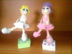 Человечки ручной работы. Куклы из фоамирана Балерины. Олеся Басирова Украшения с душой. Интернет-магазин Ярмарка Мастеров. Кукла на заказ