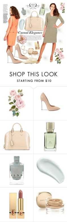 """""""Look de otoño de Remixance"""" by gaby-mil ❤ liked on Polyvore featuring Casadei, Louis Vuitton, Ex Nihilo, Omorovicza, Yves Saint Laurent, Dolce&Gabbana, Nordstrom, dress and remixance"""