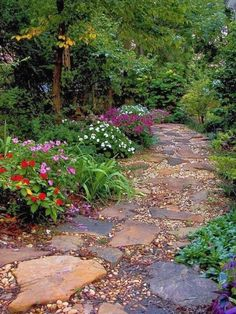 Gorgeous Front Yard Pathways Landscaping Ideas on A Budget (3) #LandscapingIdeas