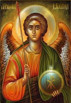 Visit the post for more. Religious Icons, Religious Art, Christian Mysticism, Angel Warrior, Byzantine Icons, Archangel Michael, Painting Process, Cross Paintings, Orthodox Icons