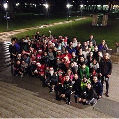 «Christmas Run #boostbastille #boostnoel #running #paris regram @niouinina»