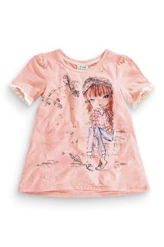 Buy Pink Girl T-Shirt And Headband (3-16yrs) from the Next UK online shop