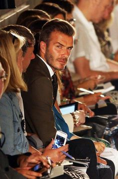 David Beckham- almost too good looking