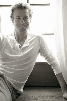Simon Baker. Love this picture