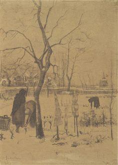 Winter Garden, 1883, Vincent van Gogh, Van Gogh Museum, Amsterdam (Vincent van Gogh Foundation)