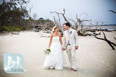 Driftwood Beach Jekyll Island Georgia Weddings, Southern Weddings.