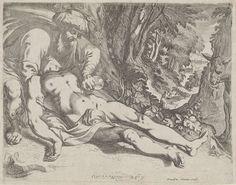 Werner van den Valckert | De barmhartige Samaritaan, Werner van den Valckert, 1595 - 1645 | De barmhartige Samaritaan verzorgt de wonden van de reiziger .