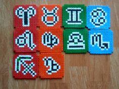 Naruto anime hema beads   Posavasos - Signos zodiacales