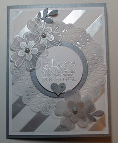 Beautiful card from stampinconnection