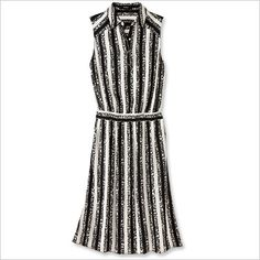 Spring Fashion Trends — Graphic Black & White: Suno Dress