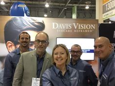 "Davis Vision - Our team is well represented at the ‪#‎visionexpo‬ in Las Vegas, NV. and we invite you to come and ""SEE"" us. http://ivew15.mapyourshow.com/6_0/exhibitor/exhibitor-details.cfm?ExhID=432383"