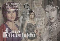 Schilderij - Gina Lollobrigida - Loekie Grijspaardt - 120x80 cm