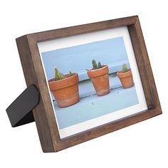 "Buy Umbra Axis Photo Frame, 5 x 7"", Walnut Online at johnlewis.com"