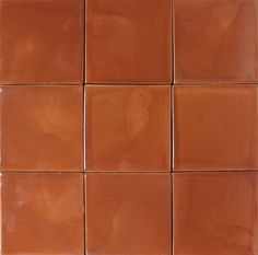 Mexican Tile - Rust Mexican Tile powder room counter surface