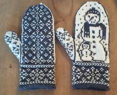 Ravelry: Zoei's Snowman Mittens