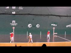 Biarritz Août 2013 - La Pelote Basque Professionnels - YouTube