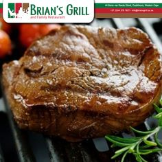 Everyday Special. Between 11:00 en 15:00 we have the new Special. Bar Lunch, 200g Steak, Egg and chips. For only- R55.00 #BriansGrill #Steak #Chips