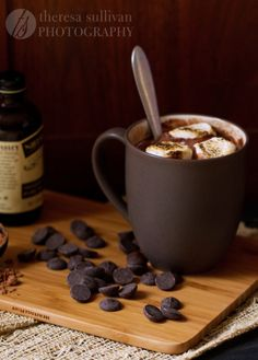 Rich & Creamy 5 Minute Hot Chocolate For One
