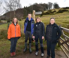 VisitEngland's Head of Programmes, William Smart helps launch English Tourism Week 2018 in Eden - on the Ullswater Way.