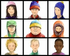 If South Park were real - upper right & lower center