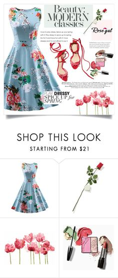 """""""Vintage dress!"""" by suljic-melika ❤ liked on Polyvore featuring Hanky Panky, Schick and vintage"""