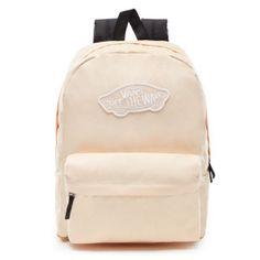 4af903a1df Vans Realm Backpack - Bleached Apricot Skate Backpacks
