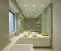 Casas de banho minimalistas por Arabella RoccaFotos de casas de banho pequenas... https://www.homify.pt/livros_de_ideias/2532349/37-fotografias-de-casas-de-banho-pequenas-mas-lindas Architettura e Design