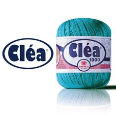 Linha Cléa 1000 Fio indicado para trabalhos em crochê, tanto para decoração como para vestuário. Composição: 100% algodão mercerizado Contém: 1000m Fabricante: Círculo