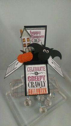 Card-in-a-box Halloween style. Www.girlshavingfun.stampinup.net