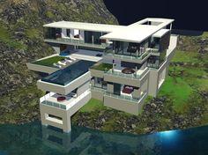dwg villa thailand