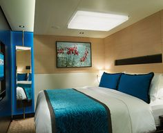 The Haven's 2-Bedroom Family Villa with Balcony Bedroom on Norwegian Breakaway