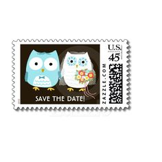 Owls Wedding Postage Stamps, Want it cheaper? Use this link for coupons: https://www.zazzle.com/coupons?rf=238077998797672559