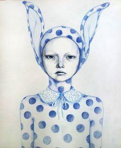 blue bunny / Zina Nedelcheva