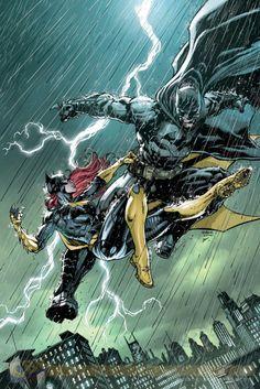 Jason Fabok - Batman vs Batgirl