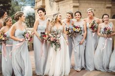 23 Bridesmaid Squads Whose Fashion Game Is On Point