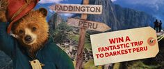 Your chance to win a fantastic trip to darkest Peru
