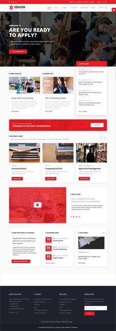 Educon is an all in one responsive #WordPress theme built for #edtech #universities, colleges, #schools and any type of educational institution website download now➩ https://themeforest.net/item/educon-education-wordpress-theme/19674556?ref=Datasata