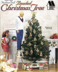 Fashion Doll Beaded Christmas Tree 1