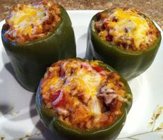 Simply Homemade: Simply Stuffed Green Peppers