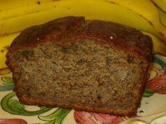 Banana Bread with Peanut Butter Glaze
