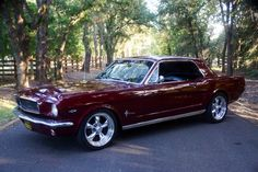 my 1966 Mustang coupe 289 C4