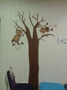 Nursery wall drawing.M.Dirro