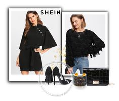 """Shein I/5"" by sara-dzc ❤ liked on Polyvore featuring WithChic and shein"