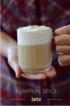 Milhojas: Café con leche y calabaza especiada {Pumpkin spice latte}
