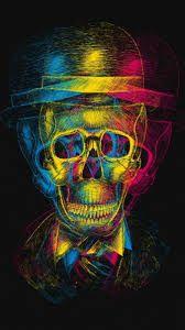 نتيجة بحث الصور عن خلفيات جماجم Skull Wallpaper Black Skulls Wallpaper Skull Art