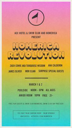 Poster / Nomerica Weekend