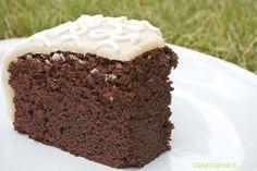 Mud cake al cioccolato fondente. Photo © Cakemania®