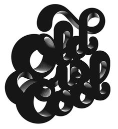 Old is Cool by Alex Trochut (lujos que se da uno, conocer a este maravilloso ser)