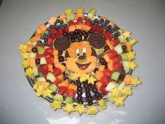 Adorable mickey fruit tray