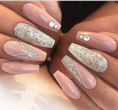 Wedding Nails  ~ Pinterest:@luxurylife004